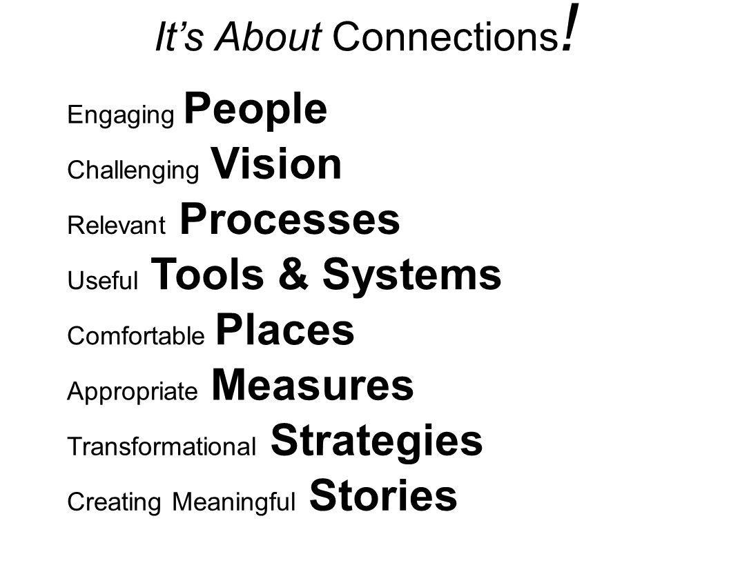 It's About Connections!
