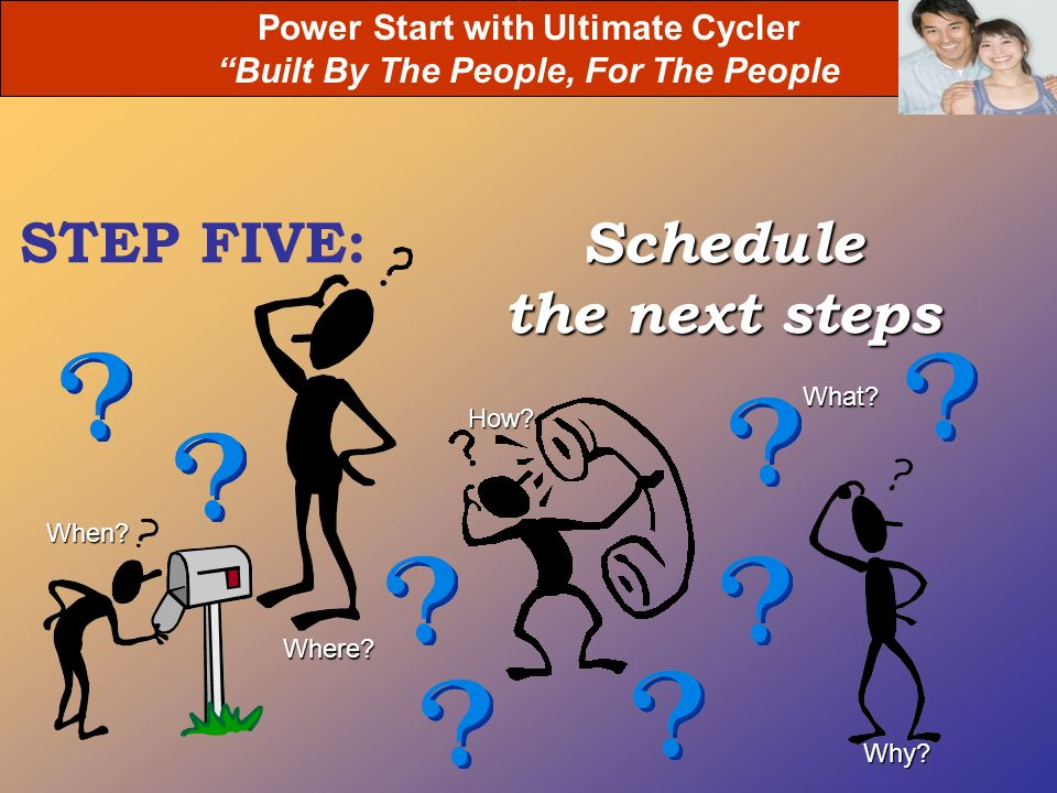 Power Start with Ultimate Cycler Built By The People, For The People