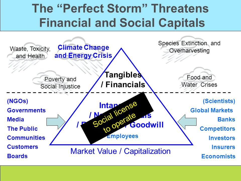 The Perfect Storm Threatens Financial and Social Capitals