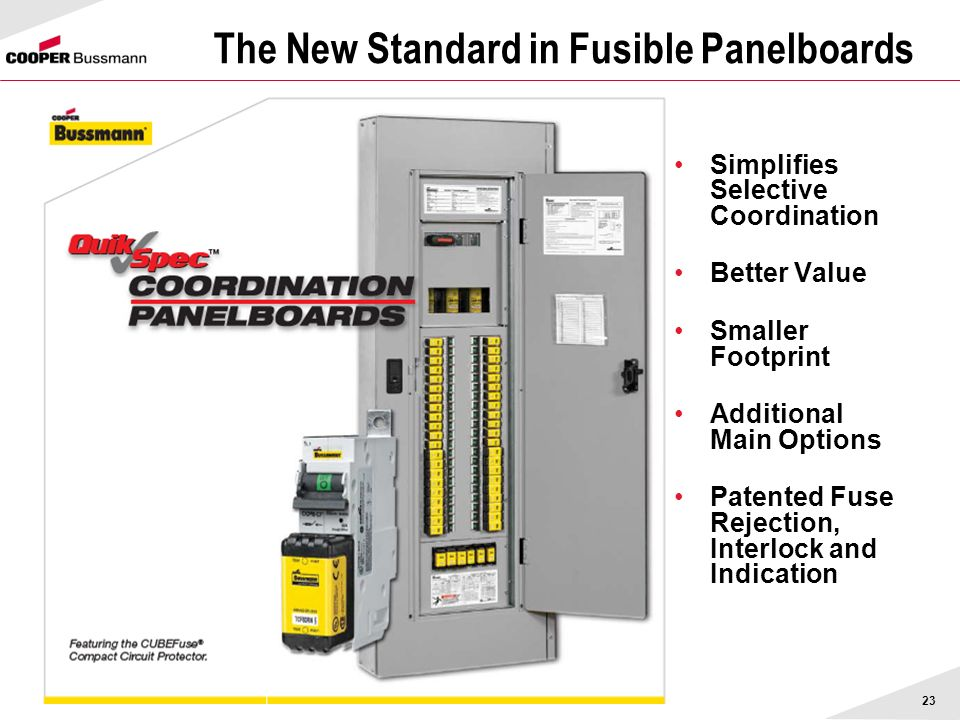 The New Standard in Fusible Panelboards