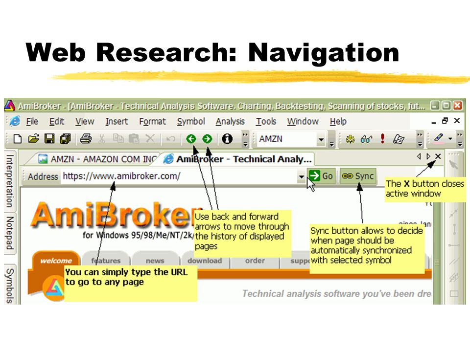 AmiBroker 4 90 new features overview - ppt video online download