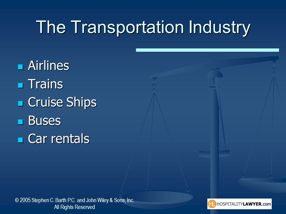 The Transportation Industry
