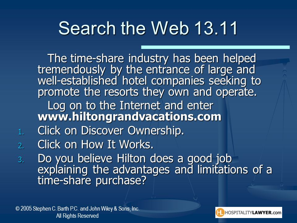 Search the Web 13.11