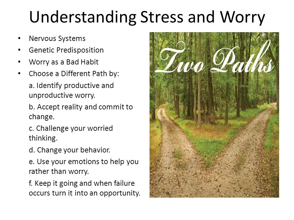 Understanding Stress and Worry