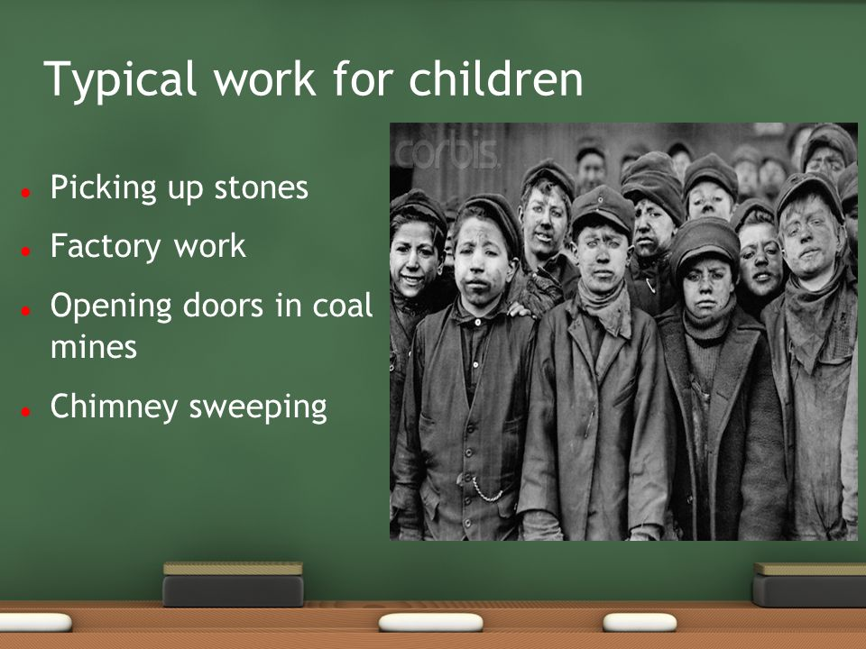 Typical work for children