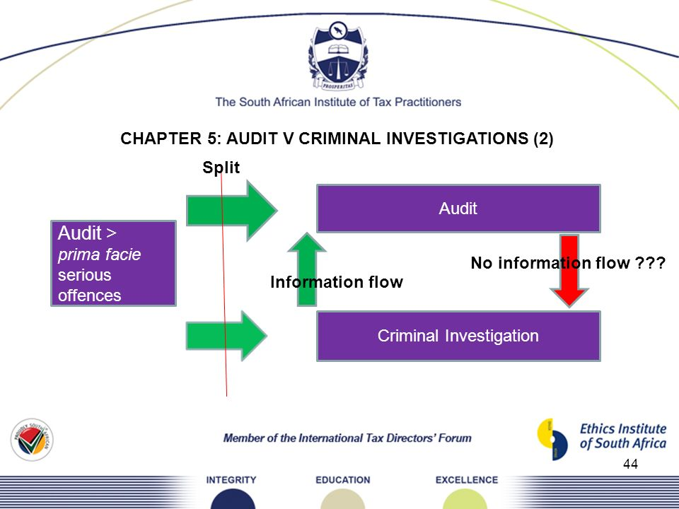 CHAPTER 5: AUDIT V CRIMINAL INVESTIGATIONS (2)