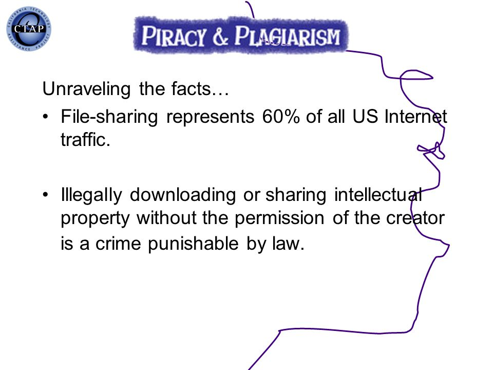 File-sharing represents 60% of all US Internet traffic.