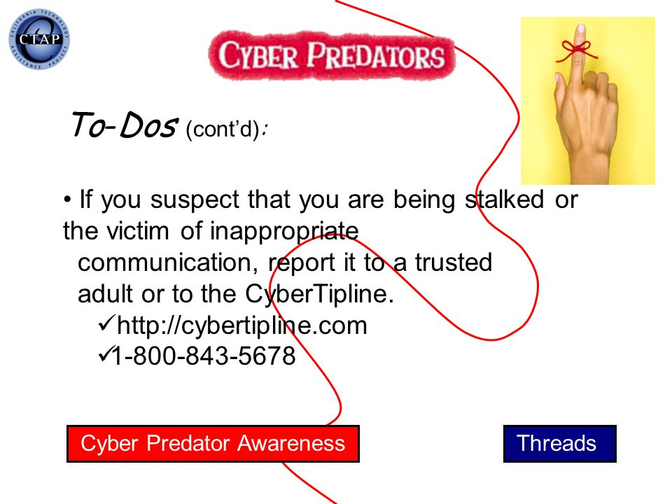 Cyber Predator Awareness