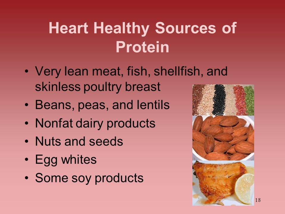 Heart Healthy Sources of Protein