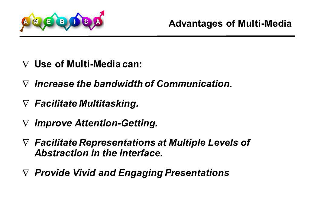 Advantages of Multi-Media