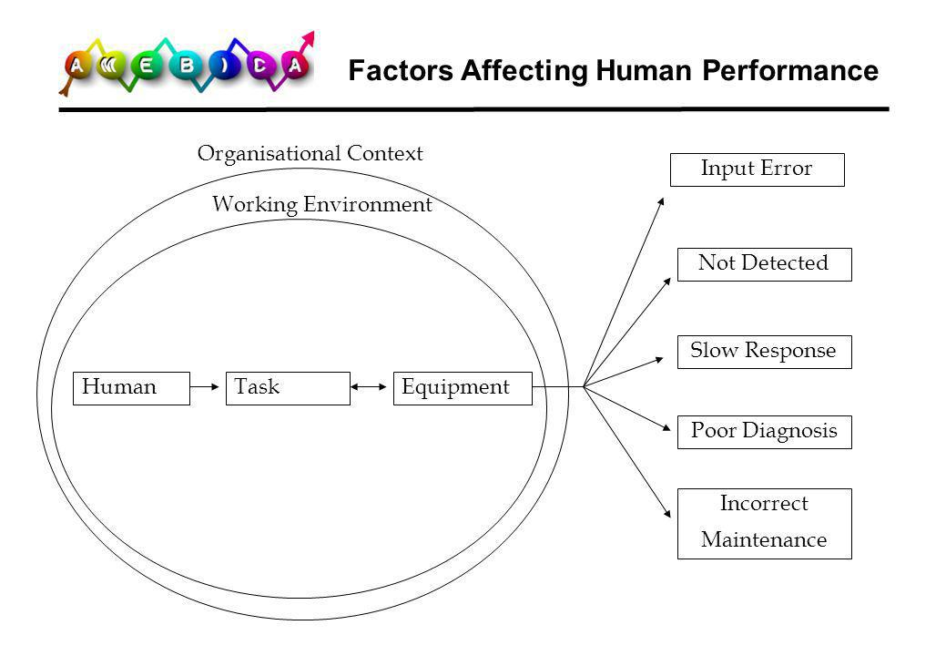 Factors Affecting Human Performance