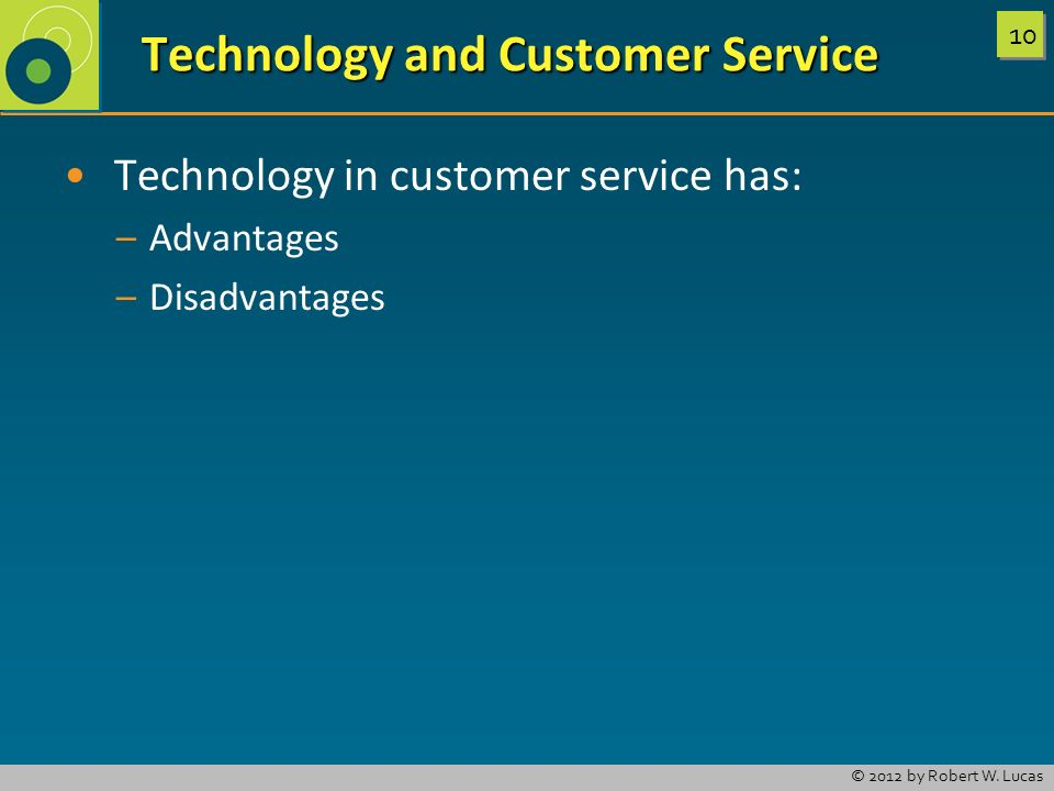 Technology and Customer Service