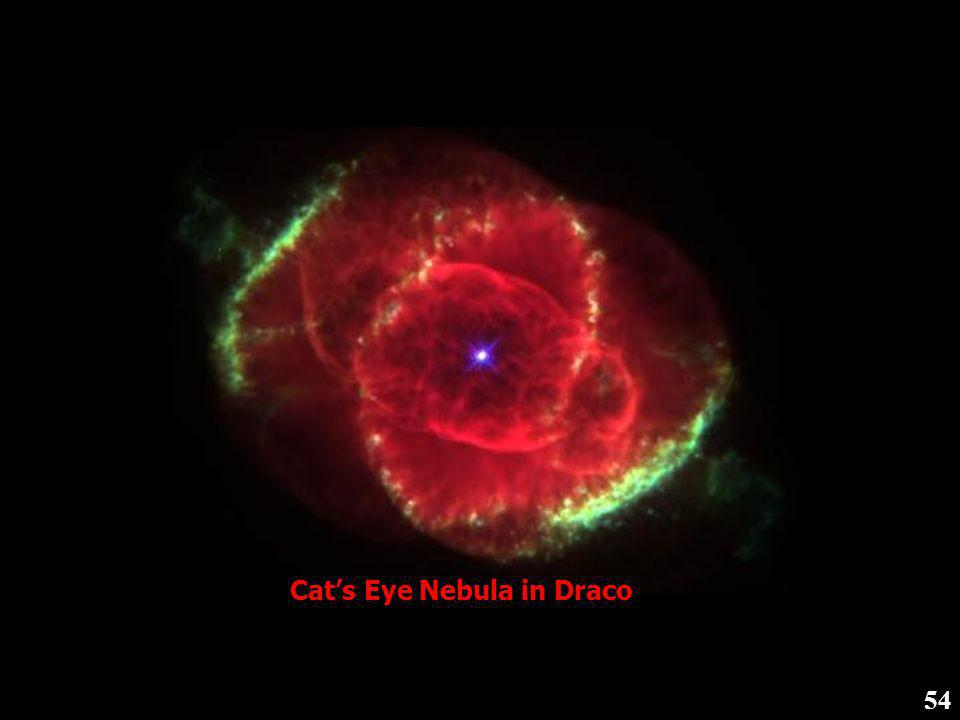 Cat's Eye Nebula in Draco