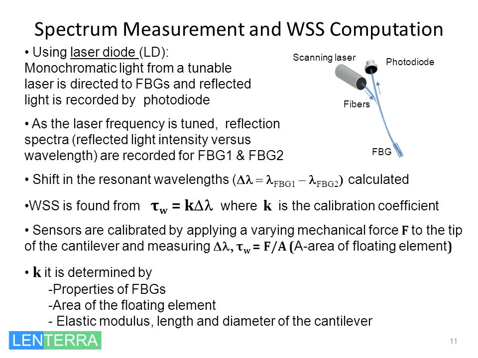 Spectrum Measurement and WSS Computation