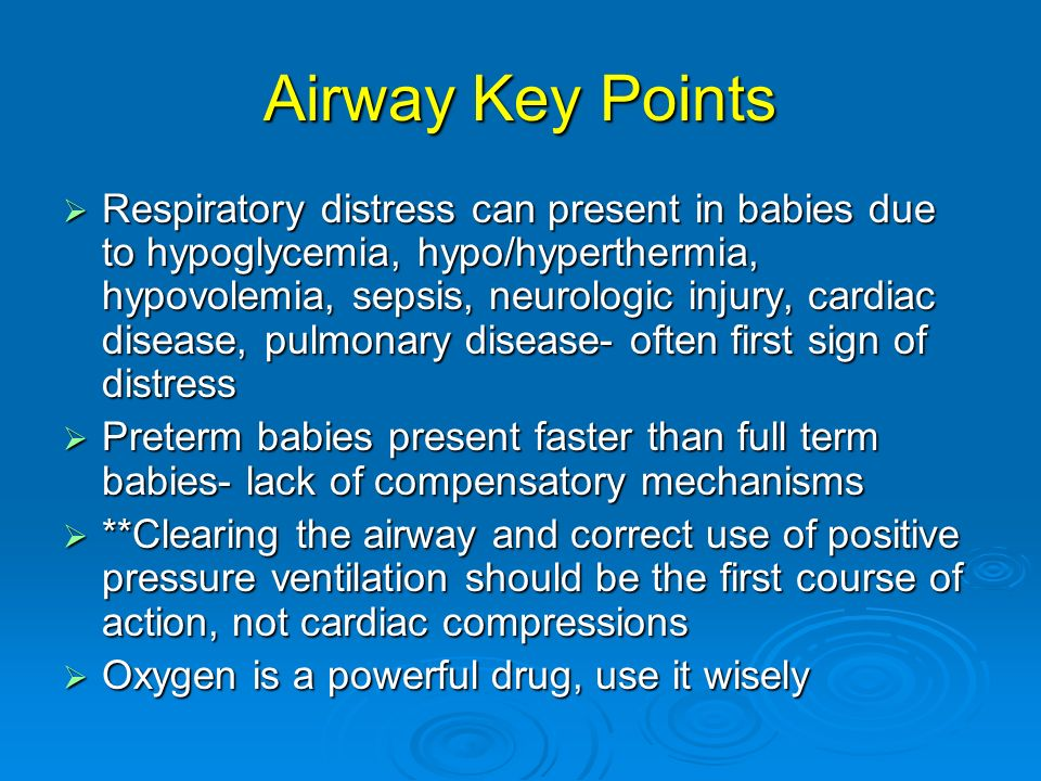 Airway Key Points