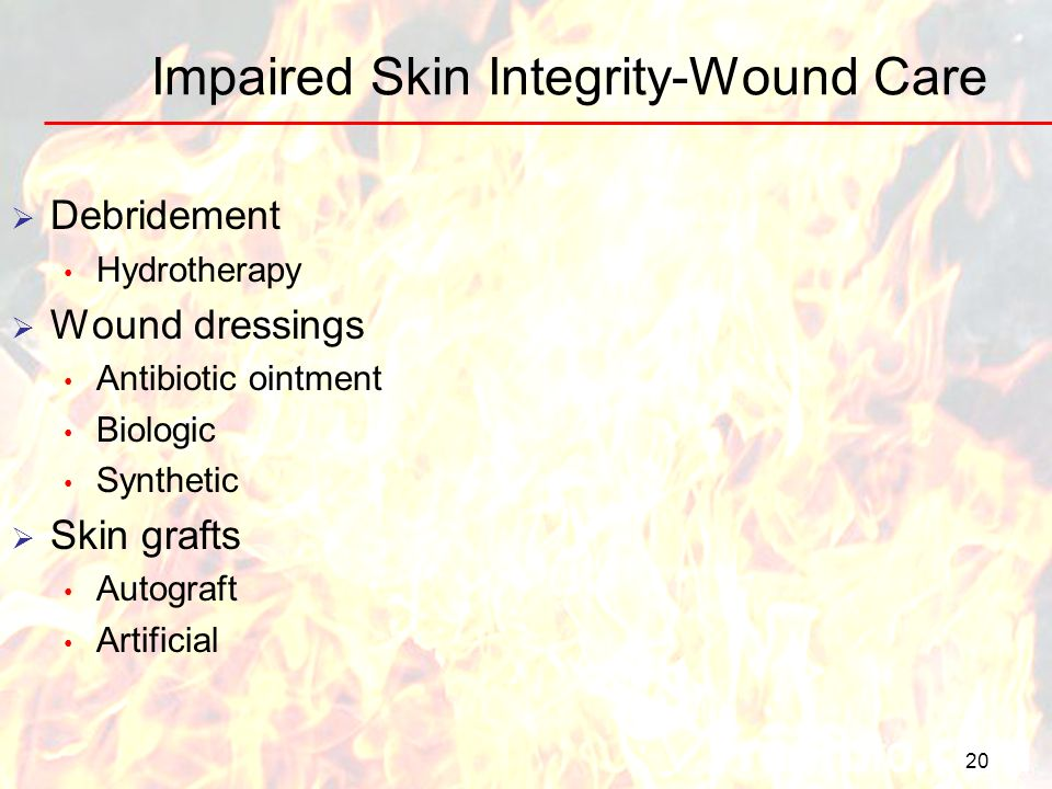 Impaired Skin Integrity-Wound Care