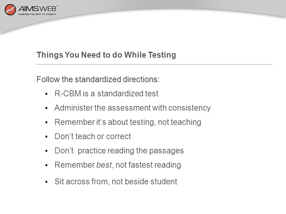 Things You Need to do While Testing