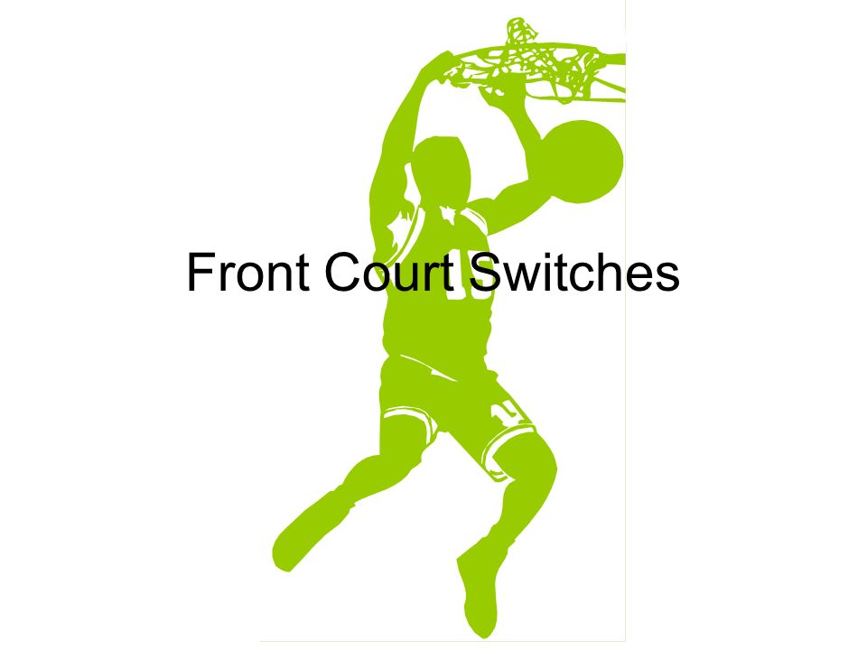 Front Court Switches Foul Switching Procedure GENERAL PRINCIPLES:
