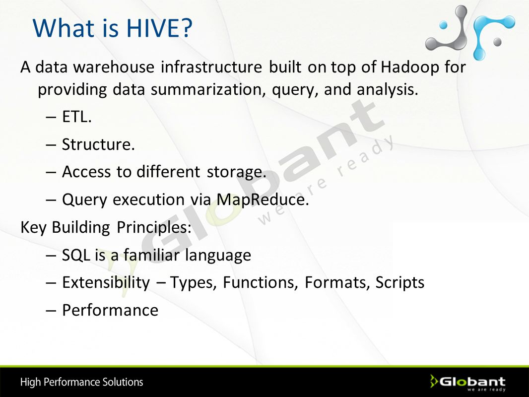 Introduction to Apache HIVE - ppt download