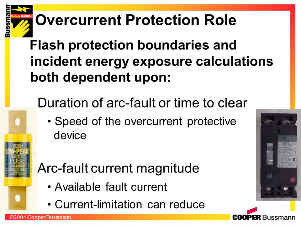Overcurrent Protection Role