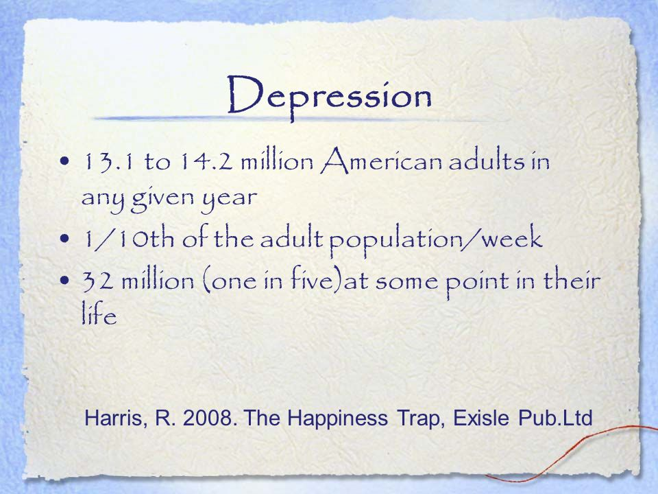Harris, R. 2008. The Happiness Trap, Exisle Pub.Ltd