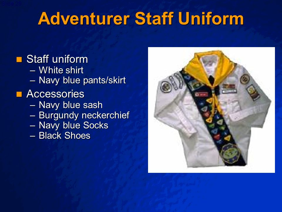 Adventurer Staff Uniform