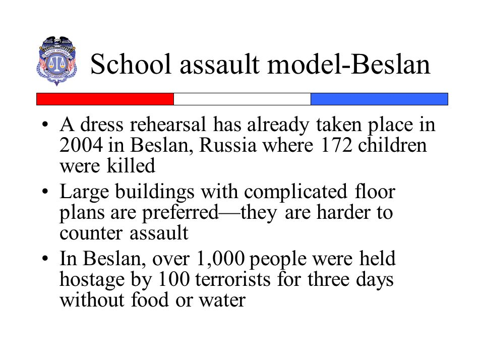 School assault model-Beslan