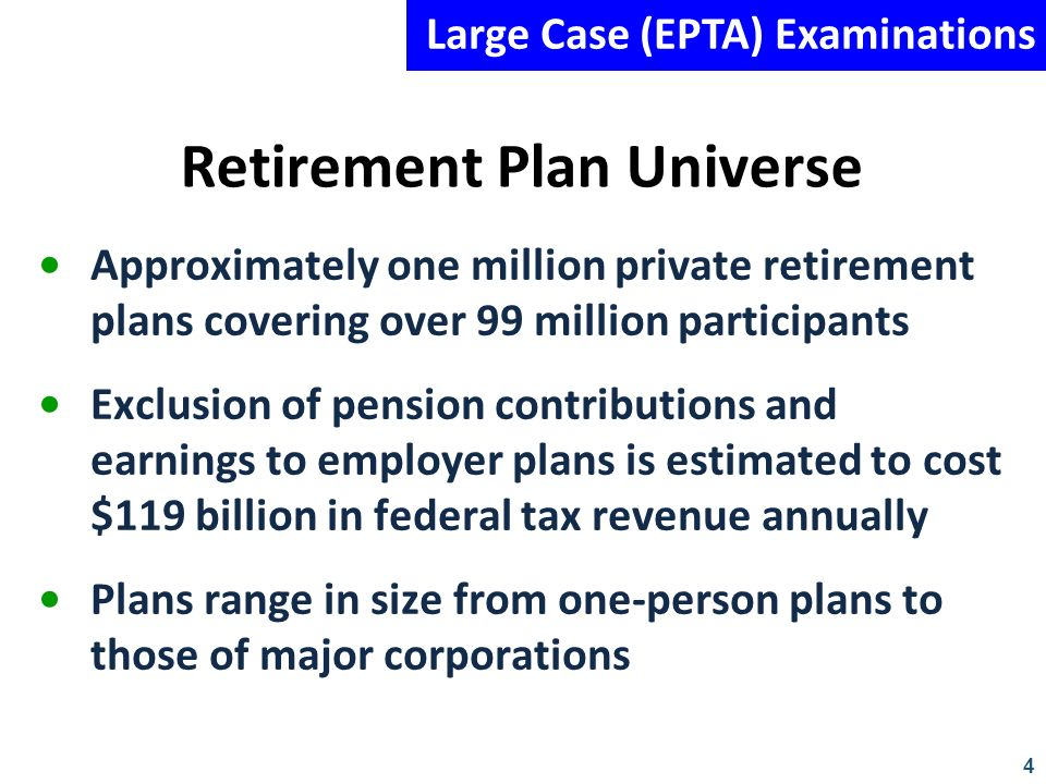 Retirement Plan Universe