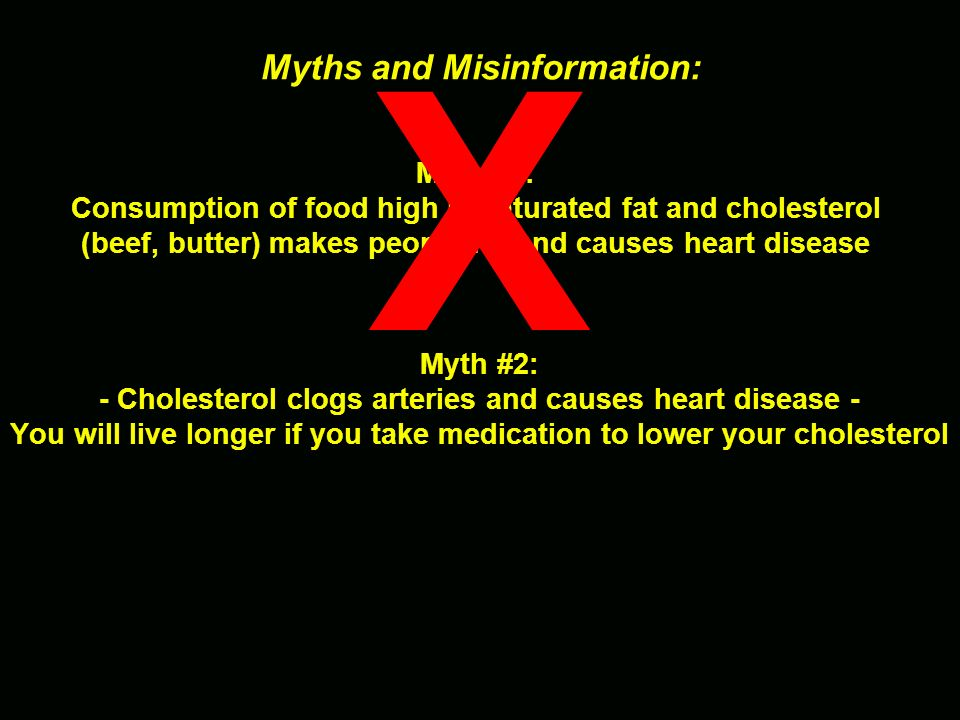 X Myths and Misinformation: Myth #1: