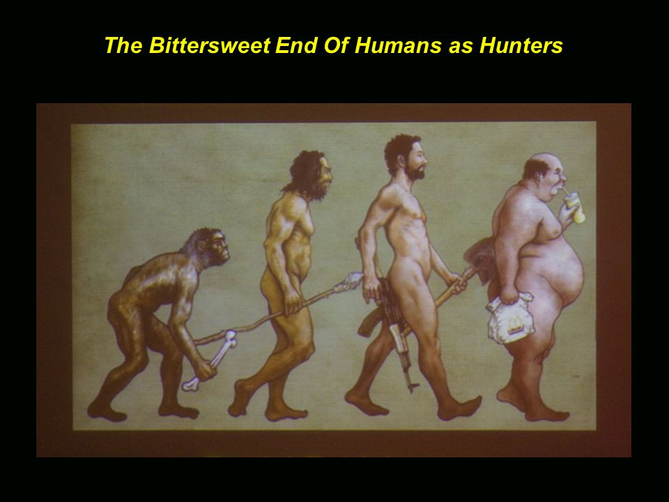 The Bittersweet End Of Humans as Hunters