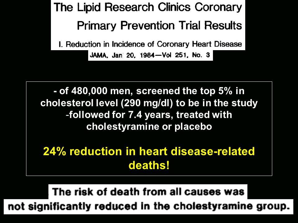 24% reduction in heart disease-related deaths!