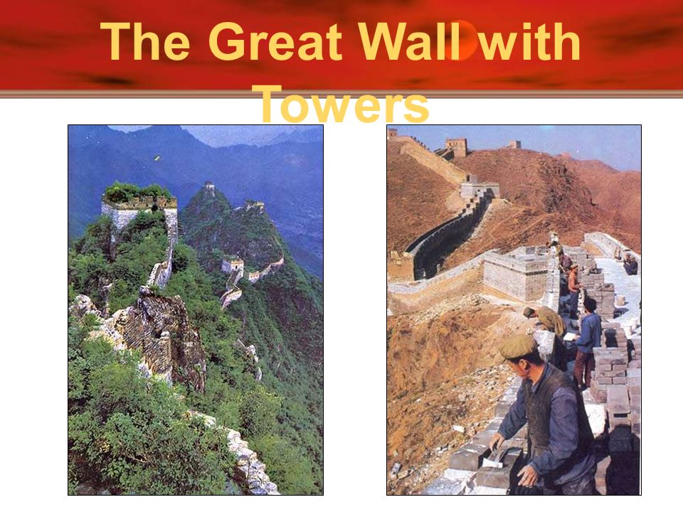 The Great Wall with Towers