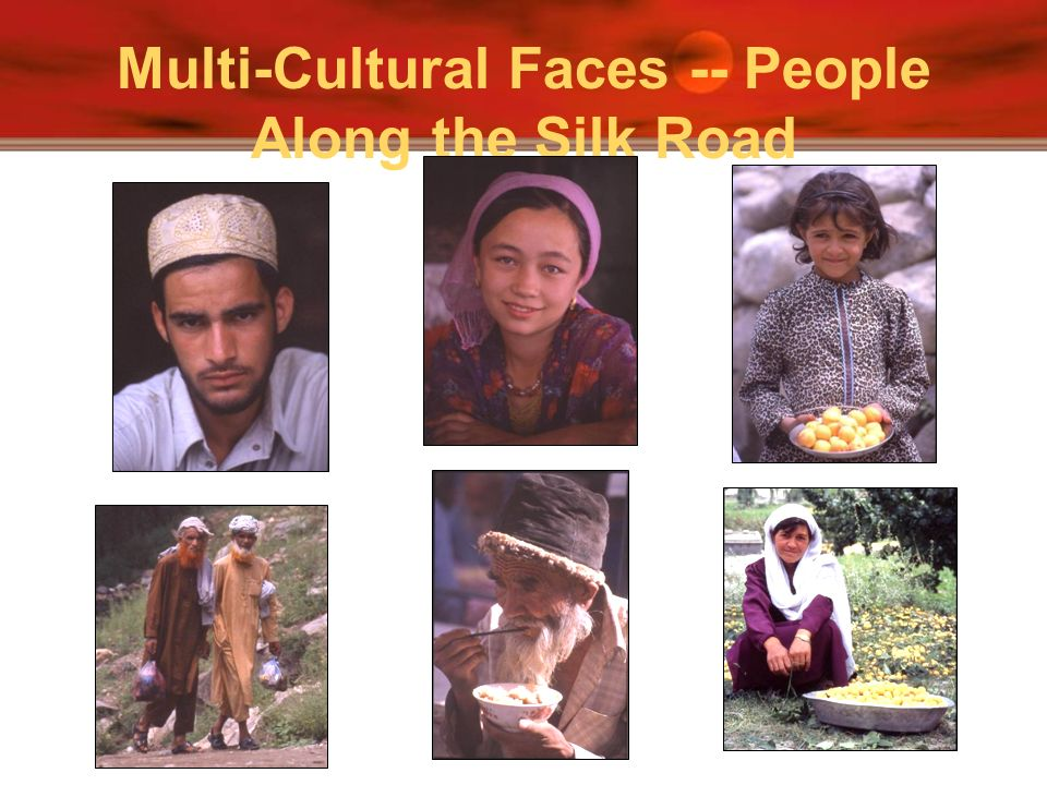 Multi-Cultural Faces -- People Along the Silk Road