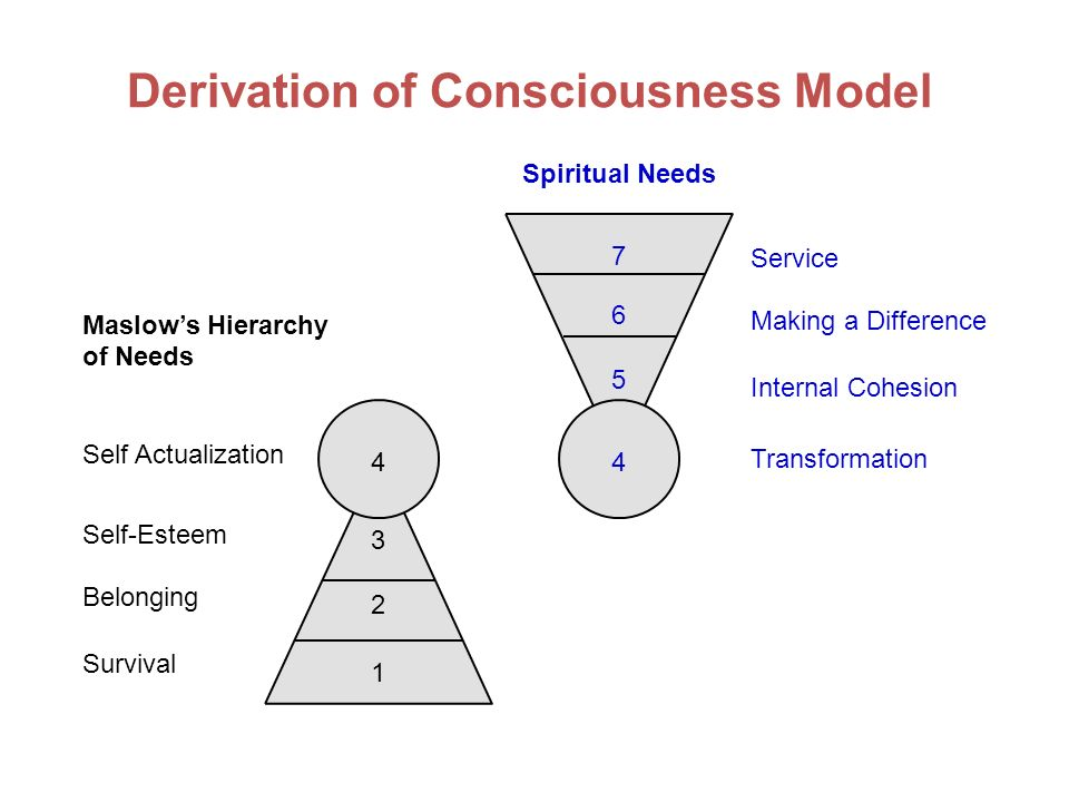 Derivation of Consciousness Model
