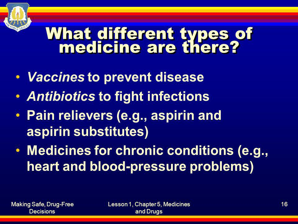 What different types of medicine are there