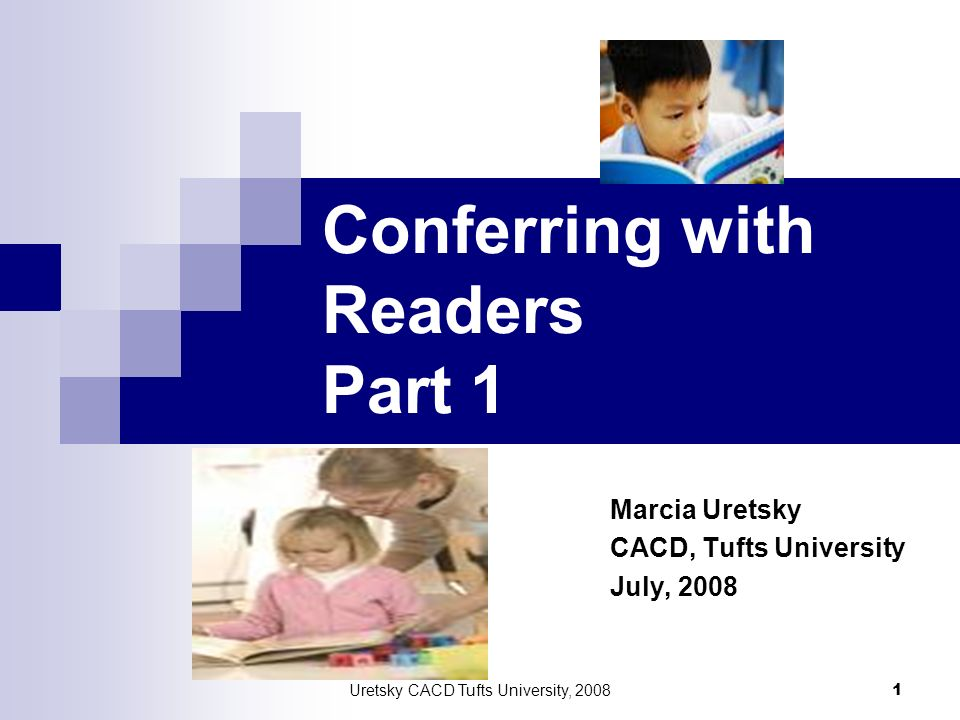Conferring with Readers Part 1
