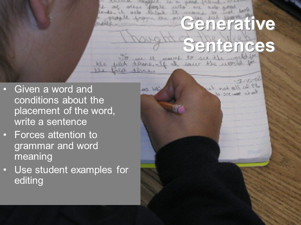 Generative Sentences What are Comon Grammar Errors English Learners Make