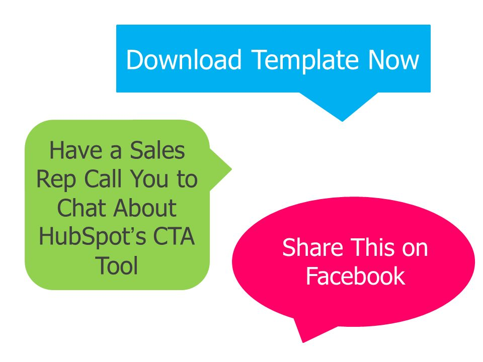 Have a Sales Rep Call You to Chat About HubSpot's CTA Tool