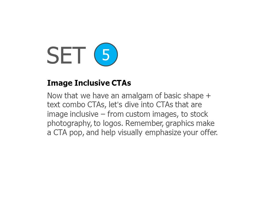 SET 5 Image Inclusive CTAs