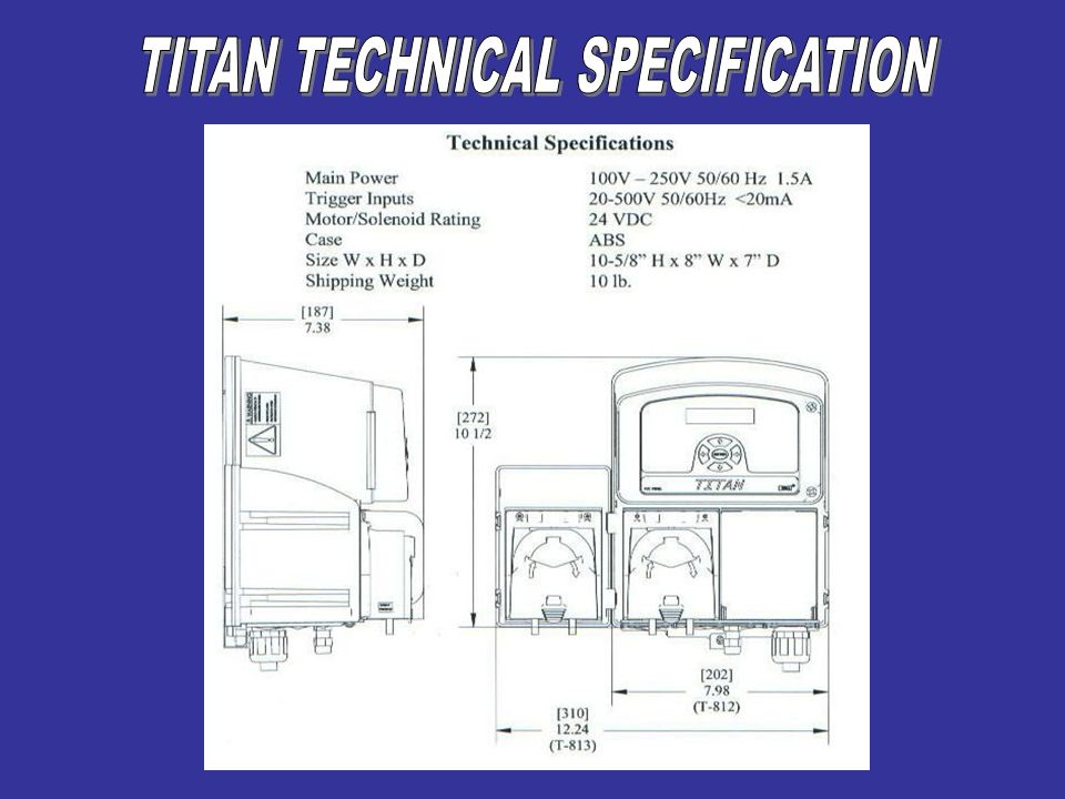TITAN TECHNICAL SPECIFICATION