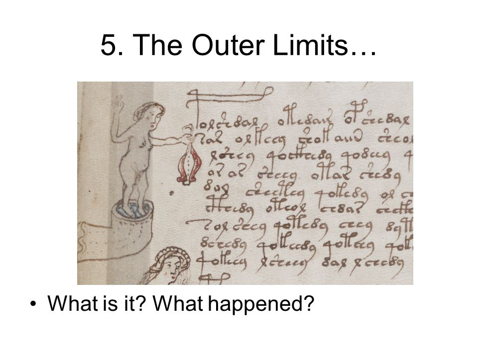 5. The Outer Limits… What is it What happened