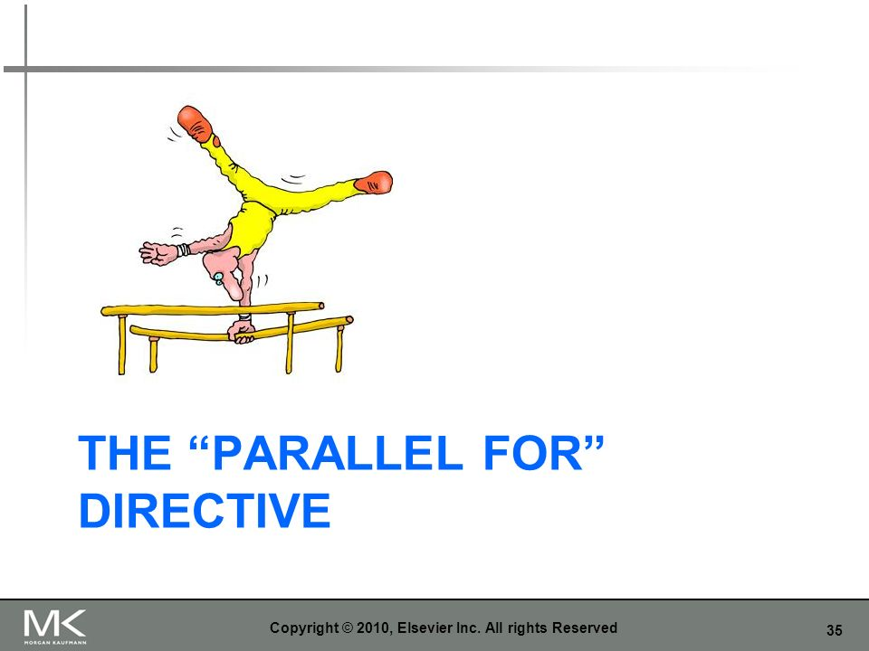 The Parallel For Directive