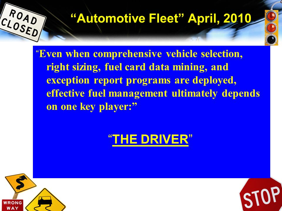 Automotive Fleet April, 2010