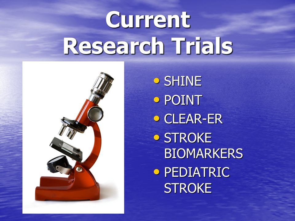 Current Research Trials