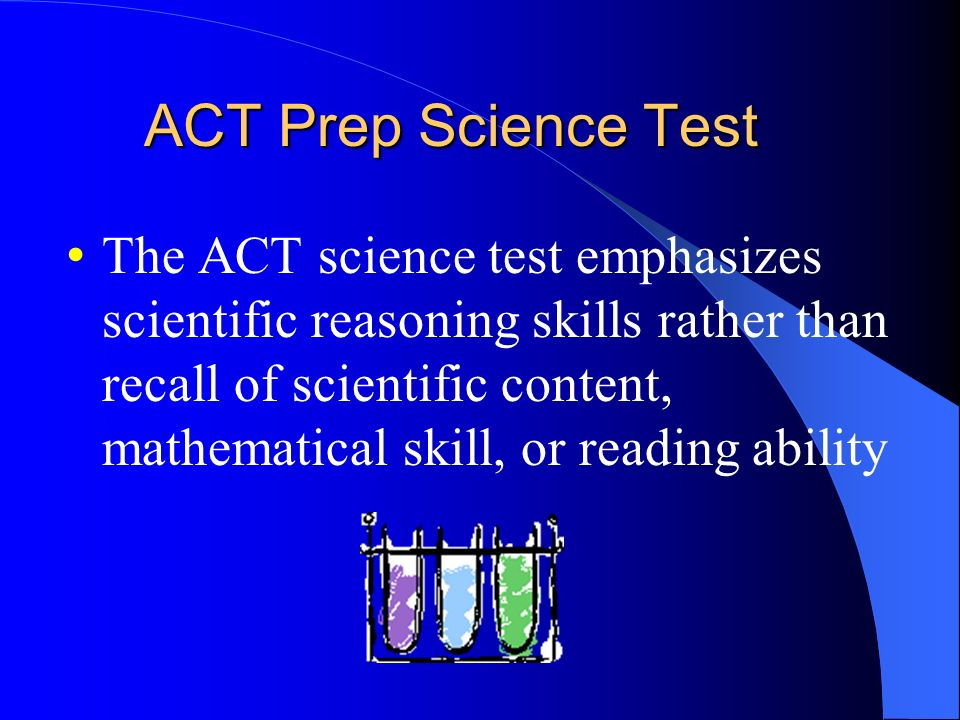 ACT Prep Science Test