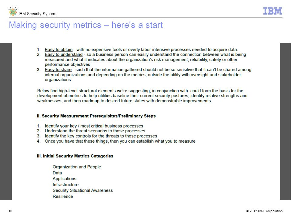Making security metrics – here s a start