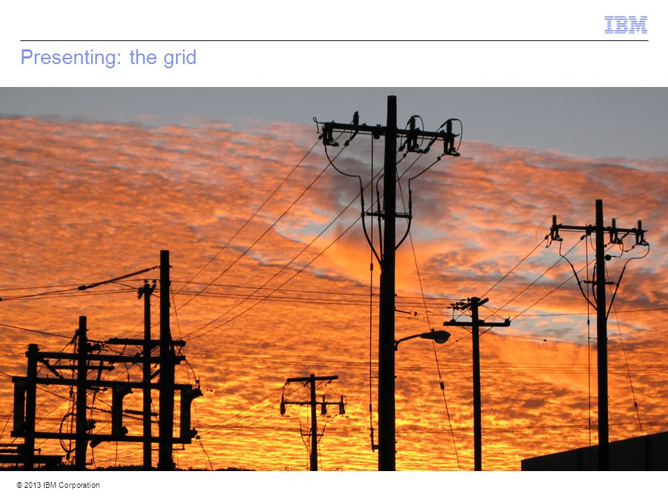 Presenting: the grid