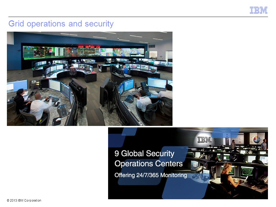 Grid operations and security
