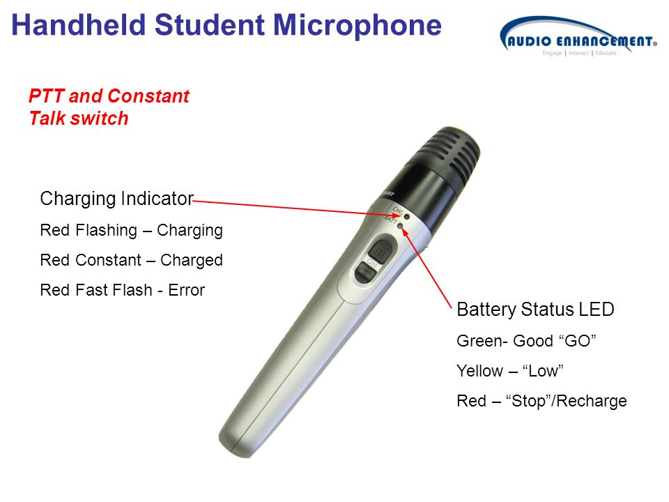 Handheld Student Microphone