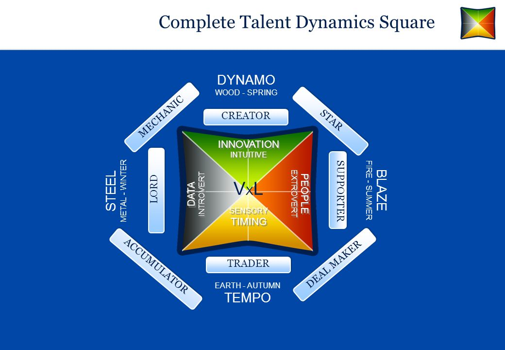 Complete Talent Dynamics Square